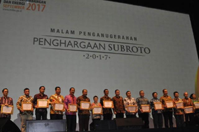 Penghargaan Subroto 2017