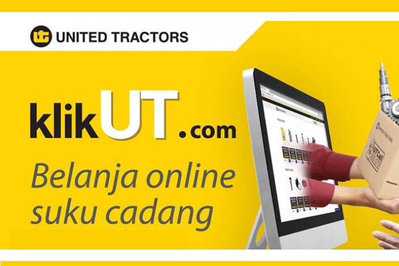 United Tractors Rilis Situs Belanja Online Suku Cadang Alat Berat