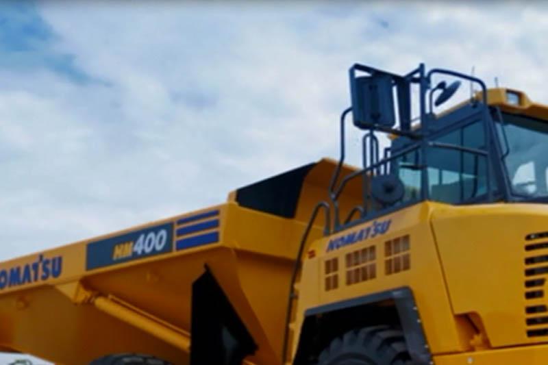United Tractors Luncurkan Jagoan Baru di Sektor Tambang Komatsu HM400-3R