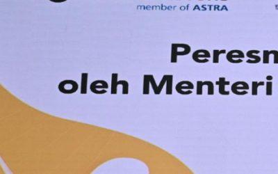 Menteri Ketenagakerjaan Republik Indonesia Meresmikan Fasilitas Belajar UT School