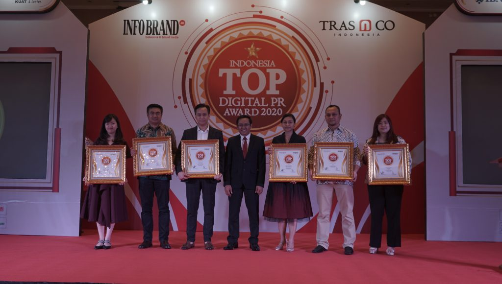 Indonesia Top Digital PR Award 2020