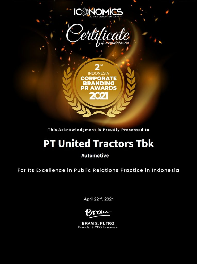 Penghargaan Indonesia Corporate Branding PR 2021