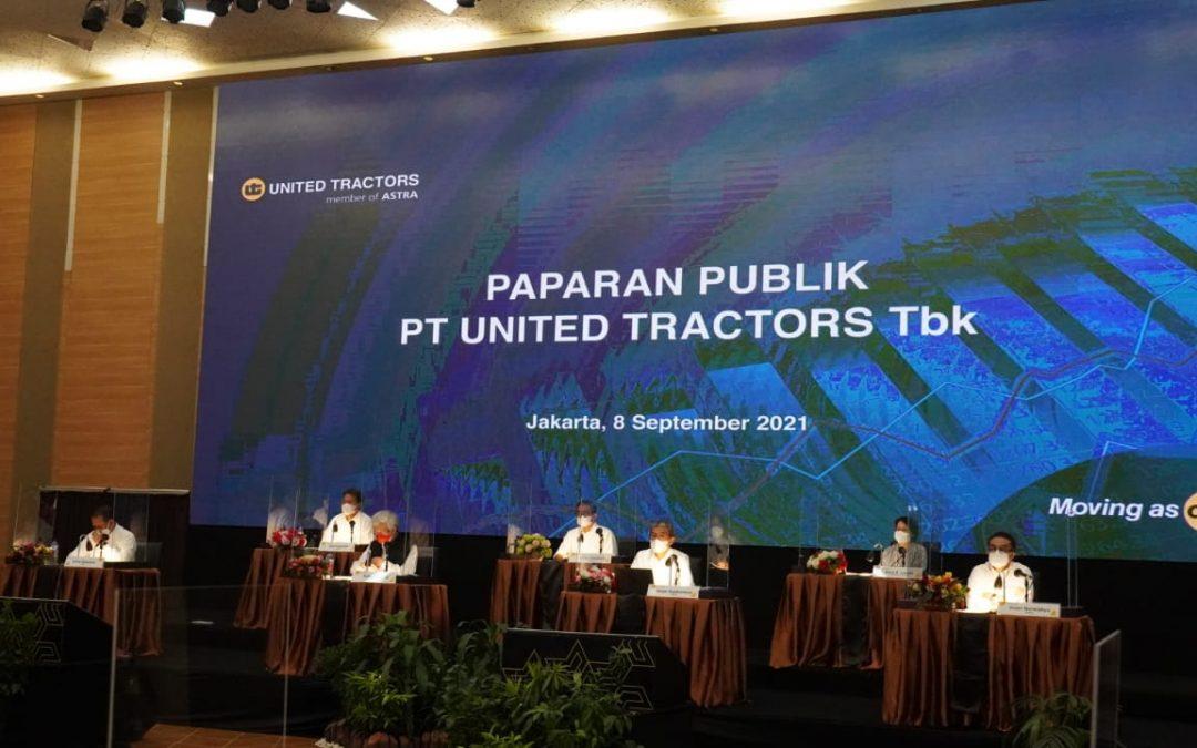 Paparan Publik 2021 – PT United Tractors Tbk